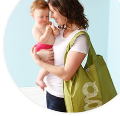 The gDiapers gShopper tote or diaper bag
