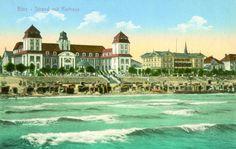 Das Kurhaus Binz auf Rügen - ca. 1919