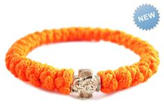Blacklight Orange Prayer #Bracelet by #33Knots $14.99 >> Summer is Coming prayer-bracelet.com