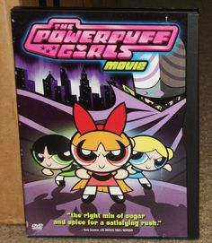 The Powerpuff Girls Movie DVD | DVDs & Movies, DVDs & Blu-ray Discs | eBay!