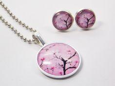 Schmucksets - Schmuckset Kirschblüte - ein Designerstück von RoSo-Querbeet bei DaWanda