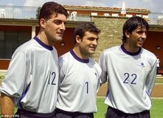 But the Italian (right, pictured in 1998) says he will not step aside for the youngster just yet