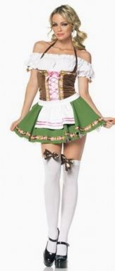 Beer Garden Costume Beer Garden Sexy Gretchen Adult Costume Great for Oktoberfest! Costume Includes: A peasant top dress with satin ribbon trim and st Sexy Halloween Costumes, Girl Costumes, Adult Costumes, Costumes For Women, Maid Costumes, Halloween Ideas, Adult Halloween, Fun Costumes, Halloween Tricks
