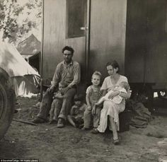 Migrant Family Marysville, California 1935