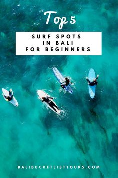 Great surf spots for beginners in Bali. Where better to learn to surf than in Bali? Before you take on the big swell we have picked a couple of gentler spots for you. Montezuma, Monteverde, Surfing Destinations, Best Surfing Spots, Learn To Surf, Bali Travel, Surf Travel, Travel Tips, Surf Trip