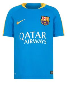 pretty nice abca7 1837b FC BARCELONA - Funktionsshirt - light photo blue/university gold - Zalando. de