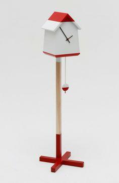Bird House Clock #Trend #Birdhouse #Clock #PatternPod