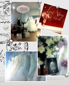 Our wedding dress shop Morsiusateljee Katariina at Oulu at Finland