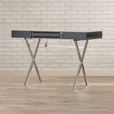 Found it at AllModern - Cevallos Computer Desk with 2 Drawers
