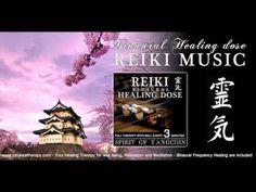 靈氣 Reiki Music Healing: Spirit of Yangchin (Full Binaural 3D Therapy with Bell Every 5 Minutes) - YouTube