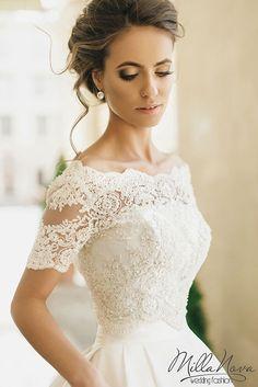 MILLA NOVA 2016 WEDDING DRESSES www.elegantwedding.ca