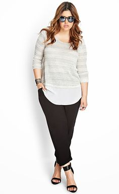 Forever 21 Tops Collection For Plus Sizes From 2014-15 | New Spring And Summer Wear Tops For Plus Size Women