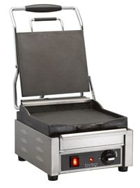 Commercial Electric Contact Grill - Birko 1002101 Small Contact Grill-www.hoskit.com.au- Kitchen & Catering Equipment