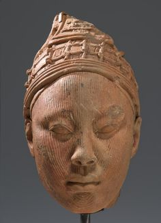 Head, Possibly A King: . Africa, Southwestern Nigeria, Ife culture 12th–14th century