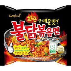 Samyang Hot Chicken Ramen Samyang Ramen, Asian Snacks, Chicken Flavors, Secret Santa, Spicy, Snack Recipes, Chips, Food And Drink, Game
