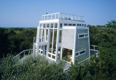 A sneak preview of the modern house tours coming to Fire Island this summer, including the work of architects Horace Gifford, Harry Bates, and Andrew Geller.