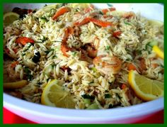 grilled shrimp orzo Archives - Proud Italian Cook