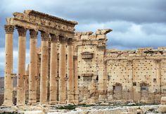 ISに破壊されたパルミラ遺跡の複製を展示へ