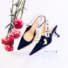 Dior J'ADIOR kitten heels with slingback  http://mariannelle.com