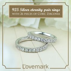 Full Eternity Silver Couple Ring lr0002 This glamorous white gold-plated couple ring adds just the right amount of sparkle for festive occasions. The stylish design boasts a multi-piece Cubic Zirconia with incredible sparkle.  Linked: http://on.fb.me/1OfwAp8 #thelovemarkph For orders or inquiries, contact us to these numbers  Landline: 556-9095 Smart: 09214890021 Globe: 09062966282