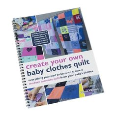 Looking for a DIY baby clothes quilt pattern? Wonder how to make a baby clothes memory quilt? Check out our DIY baby quilt tutorials, kit, books and videos! Diy Baby Clothes Quilt, Old Baby Clothes, Organic Baby Clothes, Fall Clothes, Diy Clothes, Diy Baby Quilting, Baby Quilts, Memory Quilts, Unique Mothers Day Gifts