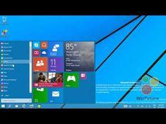 Windows 9 (Threshold) yeni başlat menüsüSekizbir