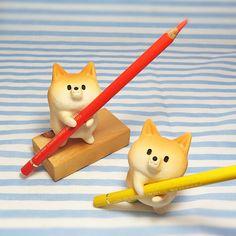 "Shiba Inu figurine of Ceramics ""Hard working Shiba"""