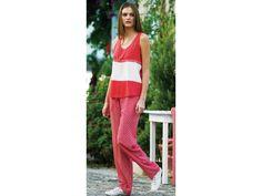 Sommer-Homewear Strandanzug Pyjama «Gabriela»