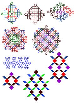 I learned about Kolams for stimulating the right brain. However, they have other purposes for the people of India.