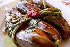 Greek Appetizers, Greek Recipes, Food Hacks, Food Tips, Pretzel Bites, Eggplant, Pickles, Catering, Yummy Food