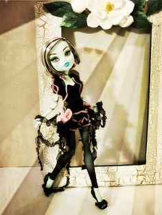 Monster High Puppe Boutique elegante Tutu Stil von boutiqueimagine