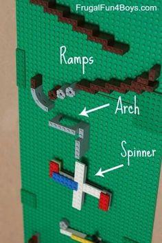 Lego marble run!