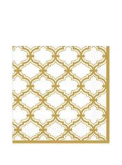 Gold Moroccan Lunch Napkins 16ct