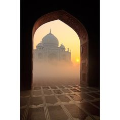 Taj Mahal, India… ❤ liked on Polyvore featuring backgrounds, pictures, building, filler and other