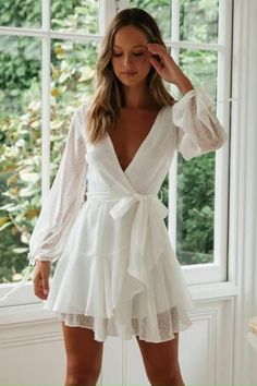 Mode Weißes Kleid - Kyra Choosing A Shower Enclosure Article Body: One of the first considerations i Girly Outfits, Cute Casual Outfits, Dress Outfits, Casual Dresses, Short Dresses, Fashion Outfits, 20s Fashion, Fashion Online, Fashion Fall