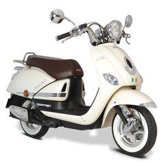 Italika Vitalia 125, El estilo vintage, originalidad, y onda que solo este scooter te puede dar, seguro sera un clasico.
