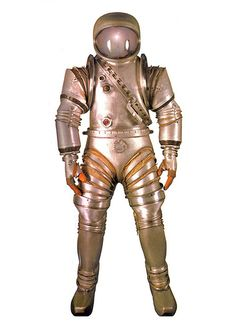 Space suit late 1940s ( Outer Space - Space Suit - Vintage Future / Retro Futurism / Science Fiction / Sci Fi