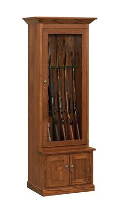 American Heirloom Amish 6 Gun Cabinet for ben                                                                                                                                                                                 More
