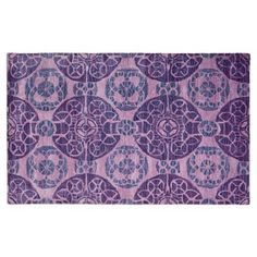 Check out this item at One Kings Lane! Bleeker Rug, Purple