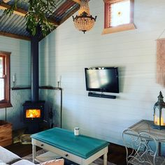 Living room in Shady Tree, Fairytale Cottage, Outdoor Baths, Cottage In The Woods, Stargazing, Recycled Materials, National Parks, Living Room, Sitting Rooms