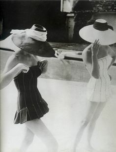 Bathing suits, 1950s - Christian Dior