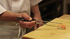 Sushi Master Naomichi Yasuda Teaches the Proper Way to Eat Sushi