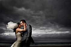 And couples hate clouds on their wedding day. I can't wait for the day I can take this shot!