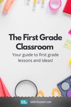 When it comes to first grade lessons, we've got you covered! FInd all of your reading, writing, math, science, and social studies needs. #teaching #classroom #firstgrade #inspirational First Grade Lessons, Teaching First Grade, First Grade Teachers, First Grade Classroom, Teaching Math, Social Studies Projects, Math Teacher, Grade 1, Book Activities