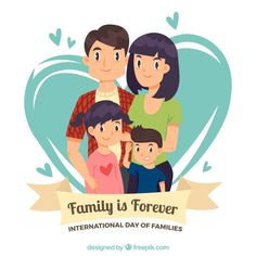 Family background with two children Free. Family Theme, Family Day, Cartoon Familie, Family Background, Family Clipart, Family Drawing, Family Wishes, Family Illustration, Illustration Styles