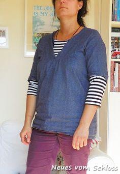 Fabric/ Stoff:Bio- Baumwolle; Pattern/ Schnitt: Tova Wiksten