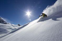 Chris Davenport ripping it up in Chamonix