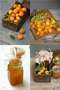 Passionate About Baking Kumquat Tree, Kumquat Recipes, Marmalade Jam, Orange Jam, Whole Food Recipes, Healthy Recipes, How To Make Jam, Food Styling, Breakfast Recipes