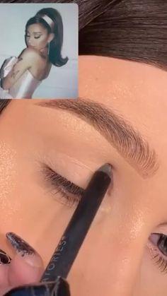 Cute Makeup Looks, Makeup Looks Tutorial, Makeup Eye Looks, Eye Makeup Art, Natural Eye Makeup, Eyeshadow Looks, Eyebrow Makeup, Skin Makeup, Pretty Makeup