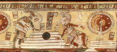 Literatura y Mundo Maya: El Pitz o Juego de Pelota Maya